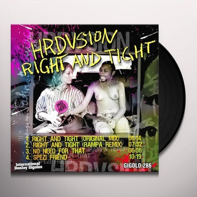 Hrdvsion RIGHT & TIGHT Vinyl Record