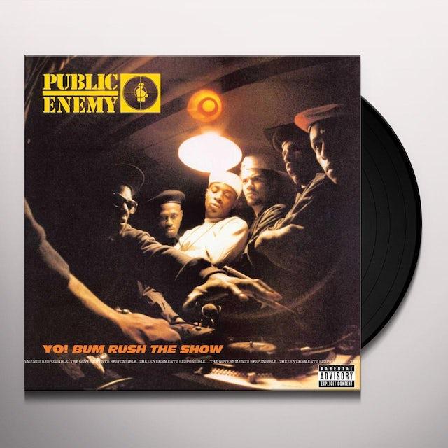 Public Enemy YO BUM RUSH THE SHOW Vinyl Record