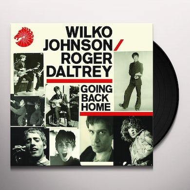 Wilko Johnson GOING BACK HOME Vinyl Record