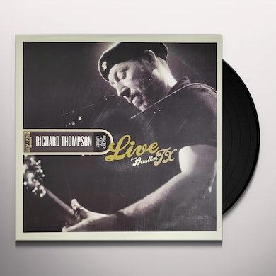 Richard Thompson LIVE FROM AUSTIN TX Vinyl Record