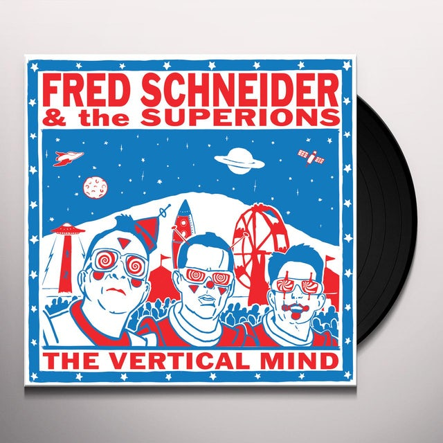 Fred Schneider & Superions FRED SCHNEIDER & THE SUPERIONS Vinyl Record