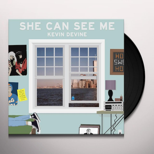 Kevin Devine SHE CAN SEE ME Vinyl Record
