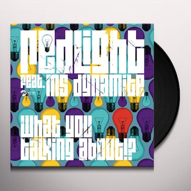 Redlight WHAT YOU TALKING ABOUT Vinyl Record