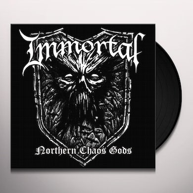 Immortal NORTHERN CHAOS GODS - Limited Edition White Colored Vinyl Record