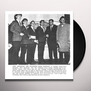 Escavels YOU SHOULD KNOW / LONELY SEA Vinyl Record