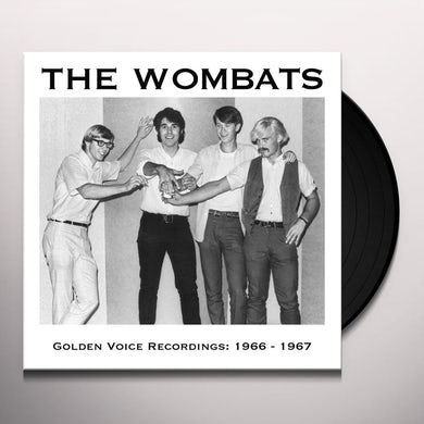 The Wombats GOLDEN VOICE RECORDINGS: 1966 / 1967 Vinyl Record