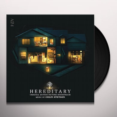 Colin Stetson HEREDITARY (ORIGINAL MOTION PICTURE SOUNDTRACK) Vinyl Record