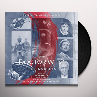 Don Harper DOCTOR WHO: THE INVASION (ORIGINAL SOUNDTRACK) Vinyl Record