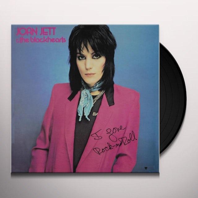 Joan Jett & The Blackhearts I LOVE ROCK & ROLL Vinyl Record