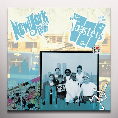 The Toasters NEW YORK FEVER Vinyl Record