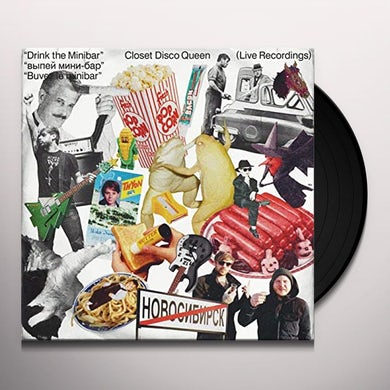 DRINK THE MINIBAR: LIVE RECORDINGS Vinyl Record