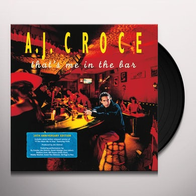 A.J. Croce THAT'S ME IN THE BAR (20TH ANNIVERSARY EDITION) Vinyl Record