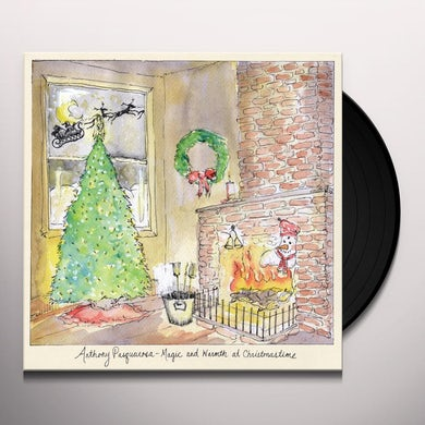 Anthony Pasquarosa MAGIC & WARMTH AT CHRISTMASTIME Vinyl Record