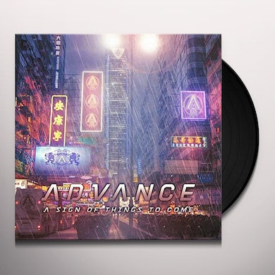 Advance SIGN OF THINGS TO COME Vinyl Record