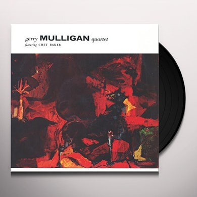 Gerry Quartet Mulligan FEATURING CHET BAKER Vinyl Record - Italy Release