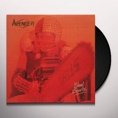 Avenger BLOOD SPORTS Vinyl Record