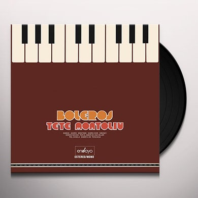 Tete Montoliu BOLEROS Vinyl Record