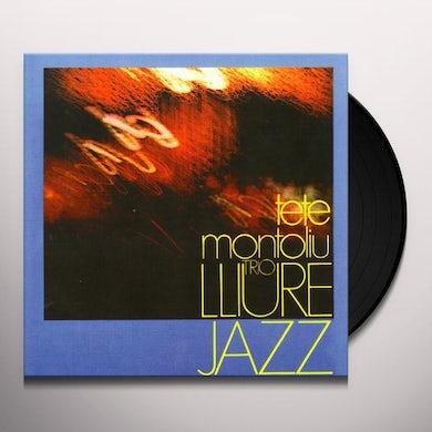 Tete Montoliu TRIO LLIURE JAZZ Vinyl Record