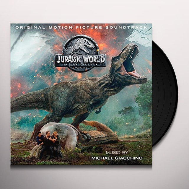 Michael Giacchino JURASSIC WORLD: FALLEN KINGDOM Vinyl Record