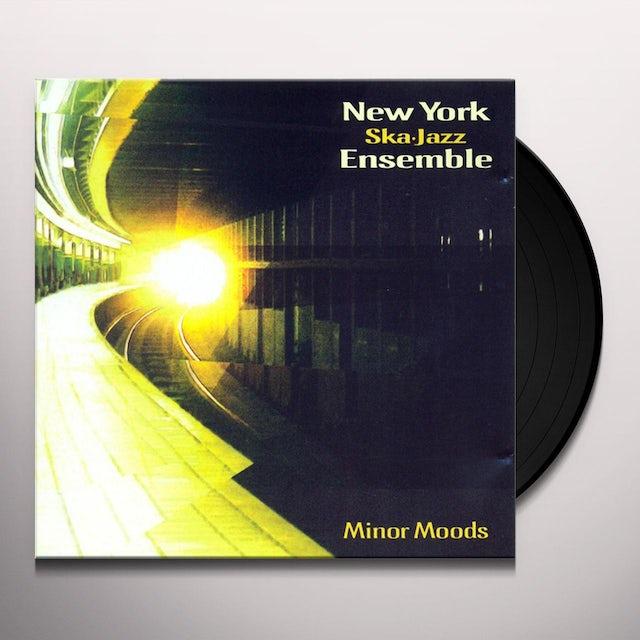 New York Ska Jazz Ensemble MINOR MOODS Vinyl Record