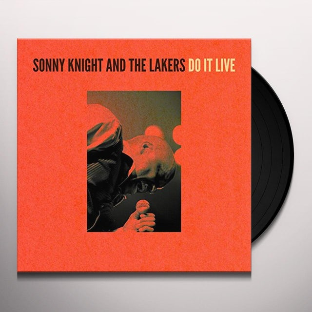 Sonny Knight & The Lakers DO IT LIVE Vinyl Record
