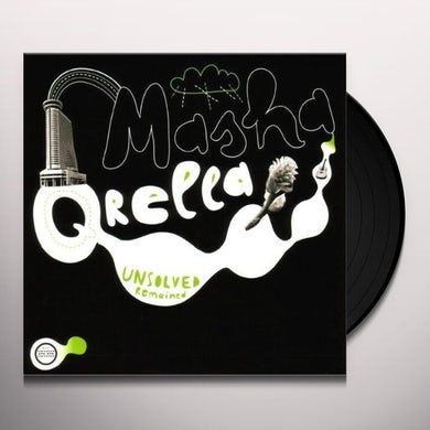 Masha Qrella UNSOLVED REMAINED Vinyl Record