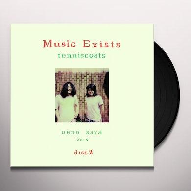 Tenniscoats MUSIC EXISTS DISC 2 Vinyl Record