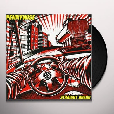 Pennywise STRAIGHT AHEAD Vinyl Record