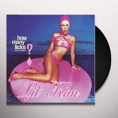 Lil Kim HOW MANY LICKS Vinyl Record
