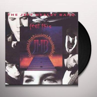 Jeff Healey Feel This Vinyl Record