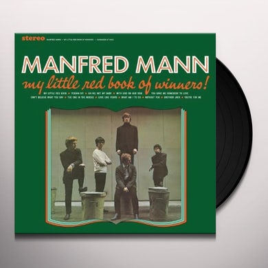Manfred Mann MY LITTLE RED BOOK OF WINNERS Vinyl Record
