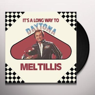 Mel Tillis IT'S A LONG WAY TO DAYTONA Vinyl Record