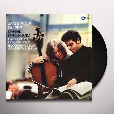 Jacqueline Du Pre HAYDN: CELLO CONCERTO IN C / BOCCHERINI: CELLO Vinyl Record