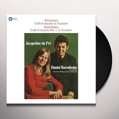 Jacqueline Du Pre SCHUMANN: CELLO CONCERTO / SAINT SAENES: CELLO Vinyl Record