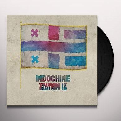 Indochine STATION 13 Vinyl Record