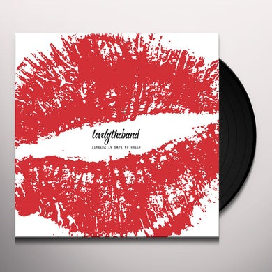 lovelytheband FINDING IT HARD TO SMILE Vinyl Record