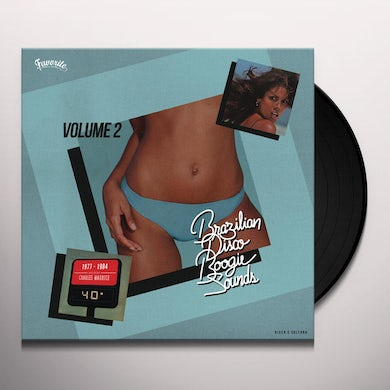 Charles Maurice BRAZILIAN DISCO BOOGIE SOUNDS VOLUME 2, 1977-1984 Vinyl Record
