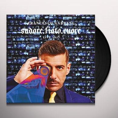 Francesco Gabbani SUDORE FIATO CUORE: LIVE MAGELLANO TOUR 2017 Vinyl Record