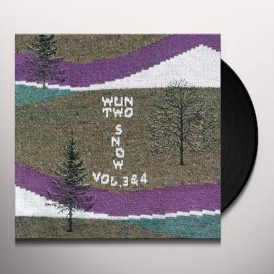 wun two SNOW VOL. 3-4 Vinyl Record