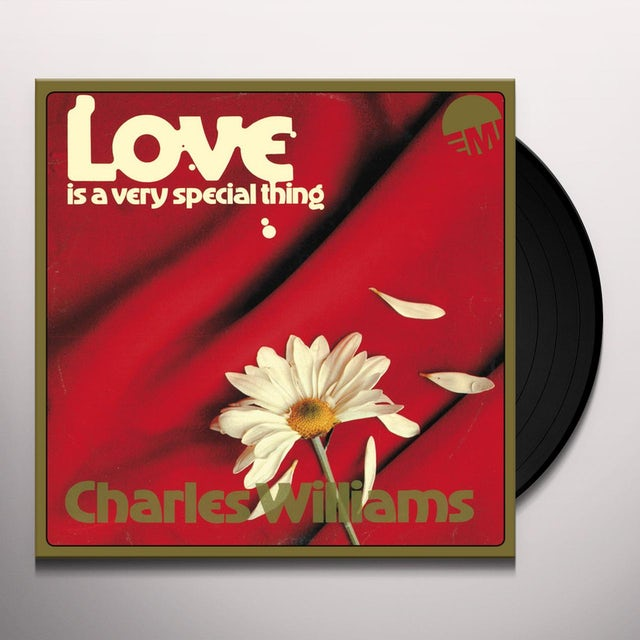 Charles Williams LOVE IS A VERY SPECIAL THING Vinyl Record
