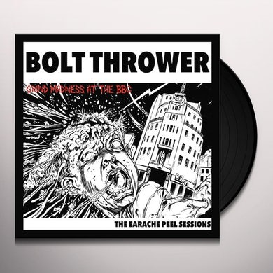 Bolt Thrower EARACHE PEEL SESSIONS Vinyl Record