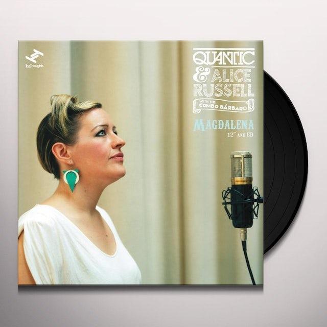 Quantic & Alice Russell MAGDALENA Vinyl Record