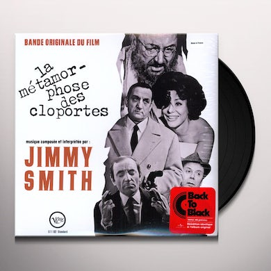 Jimmy Smith LA METAMORPHOSE DES CLOPORTES / Original Soundtrack Vinyl Record