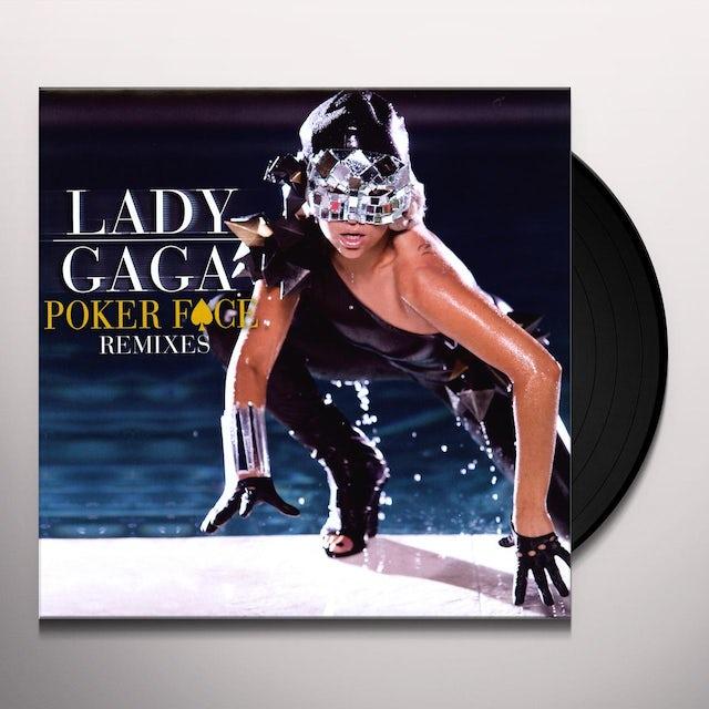 Lady Gaga POKER FACE REMIXES (X5) Vinyl Record - Remixes