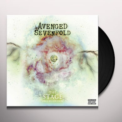 Avenged Sevenfold The Stage (4 LP)(Deluxe Edition) Vinyl Record