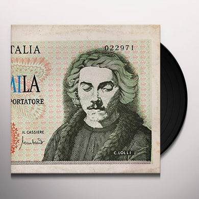 Claudio Lolli ASPETTANDO GODOT Vinyl Record