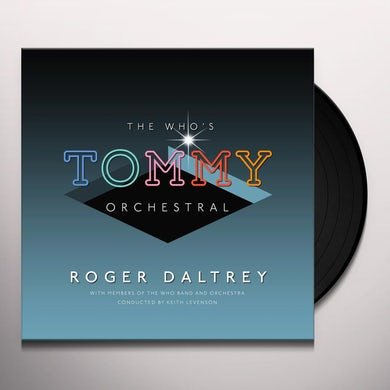 Roger Daltrey WHO'S TOMMY ORCHESTRAL Vinyl Record