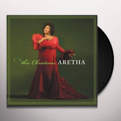 Aretha Franklin   THIS CHRISTMAS ARETHA Vinyl Record