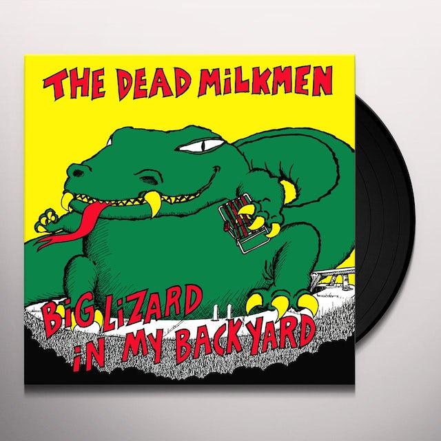 DEAD MILKMEN BIG LIZARD IN MY BACKYARD Vinyl Record