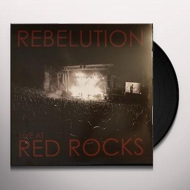 Rebelution LIVE AT RED ROCKS Vinyl Record